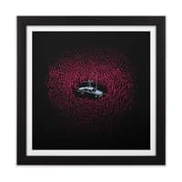 The Horde - black-square-framed-print - small view