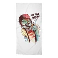 Use Your Brain - beach-towel - small view