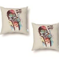 Use Your Brain - throw-pillow - small view