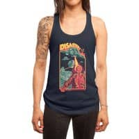 The Politburo Explains - womens-racerback-tank - small view