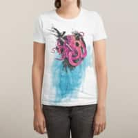 Art Is My Weapon - womens-sublimated-triblend-tee - small view
