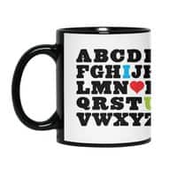 Love Your Fellow As Yourself - black-mug - small view