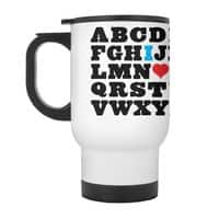 Love Your Fellow As Yourself - travel-mug-with-handle - small view