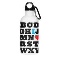 Love Your Fellow As Yourself - water-bottle - small view