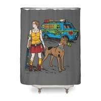 We've Got Some Work To Do Now - shower-curtain - small view