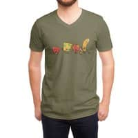 Zombie Food - vneck - small view