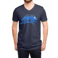 The Midnight Forest - vneck - small view