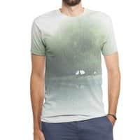 Secret Lake - mens-sublimated-triblend-tee - small view