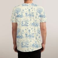 It's Toile About You - mens-sublimated-triblend-tee - small view