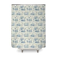 It's Toile About You - shower-curtain - small view