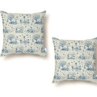 It's Toile About You - throw-pillow - small view