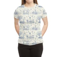 It's Toile About You - womens-sublimated-triblend-tee - small view