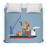 Russian Cargo - duvet-cover - small view