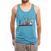 Russian Cargo - mens-triblend-tank - small view
