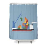 Russian Cargo - shower-curtain - small view