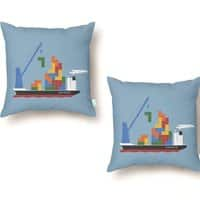 Russian Cargo - throw-pillow - small view