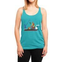 Russian Cargo - womens-triblend-racerback-tank - small view