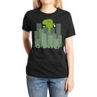 Clean Monster - womens-extra-soft-tee - small view