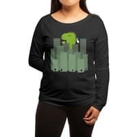 Clean Monster - womens-long-sleeve-terry-scoop - small view