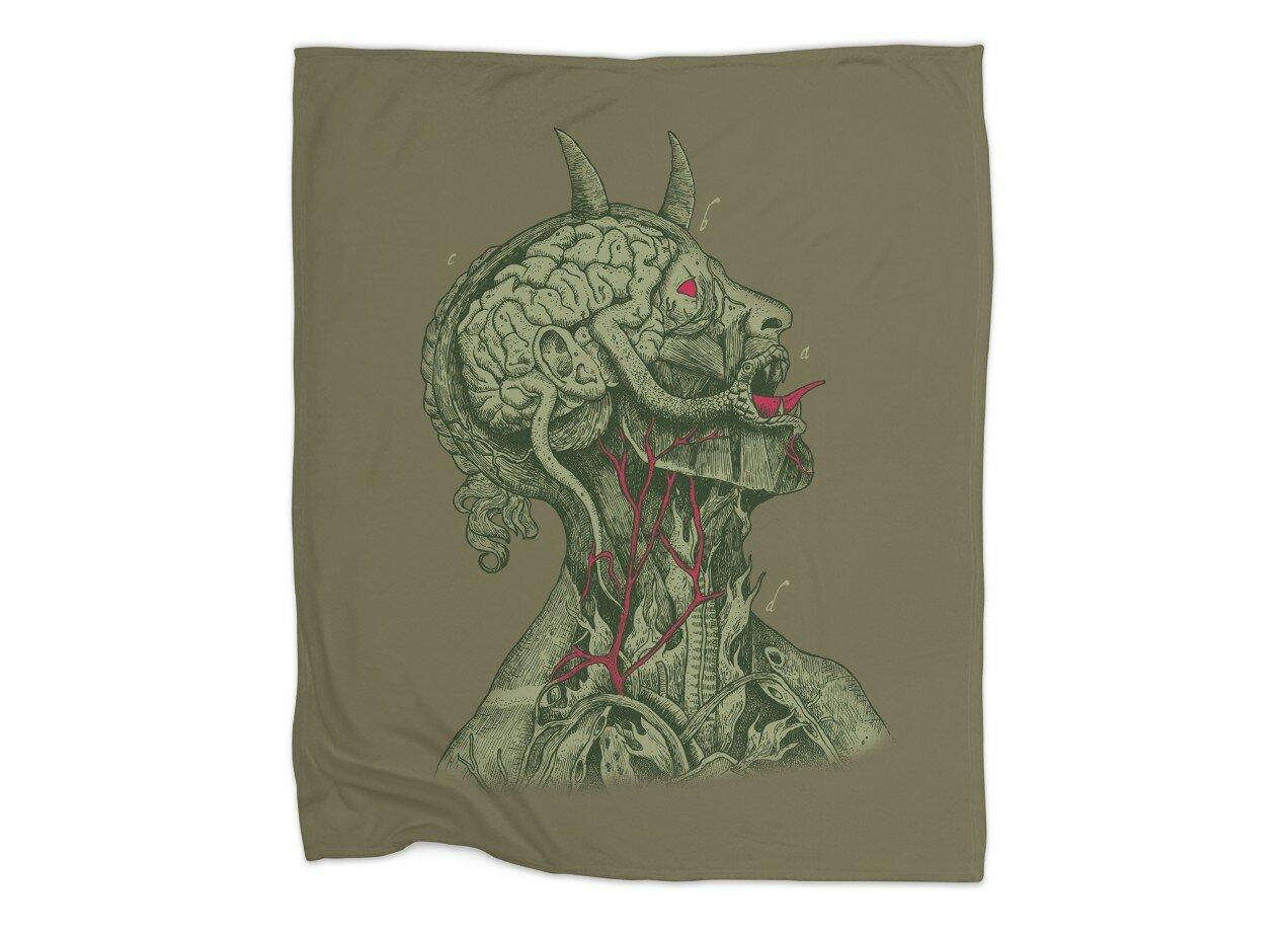 Anatomy of Evil by Alvaro Arteaga   Blanket Threadless