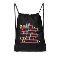 Arcade Expressionism - drawstring-bag - small view