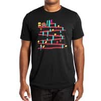 Arcade Expressionism - mens-extra-soft-tee - small view