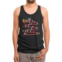 Arcade Expressionism - mens-triblend-tank - small view