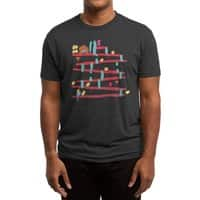 Arcade Expressionism - mens-triblend-tee - small view