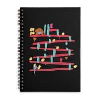 Arcade Expressionism - spiral-notebook - small view