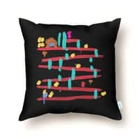 Arcade Expressionism - throw-pillow - small view