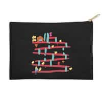 Arcade Expressionism - zip-pouch - small view