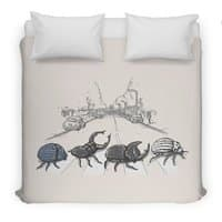 The Beetles - duvet-cover - small view