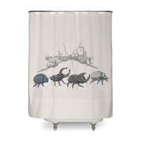The Beetles - shower-curtain - small view