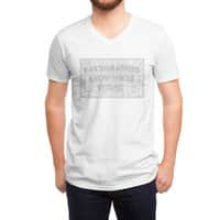 Cartographers Know Where It's At - vneck - small view