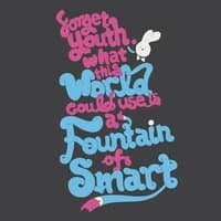 Forget Youth. What This World Could Use Is a Fountain of Smart. - small view