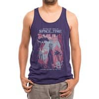 Space and Time - mens-triblend-tank - small view