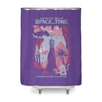 Space and Time - shower-curtain - small view