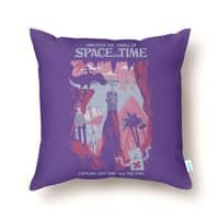 Space and Time - throw-pillow - small view