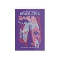 Space and Time - vertical-mounted-aluminum-print - small view