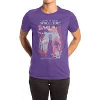 Space and Time - womens-extra-soft-tee - small view