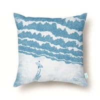 Never-ending Challenge - throw-pillow - small view