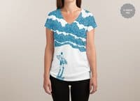 Never-ending Challenge - womens-sublimated-v-neck - small view