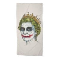 God Save the Villain! - beach-towel - small view