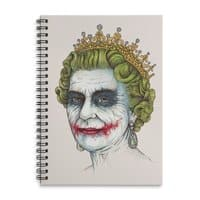 God Save the Villain! - spiral-notebook - small view