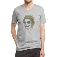God Save the Villain! - vneck - small view