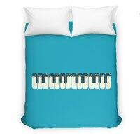 The Choir of Antarctica - duvet-cover - small view