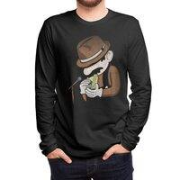 8-Bit Blues - mens-long-sleeve-tee - small view