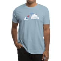 Here Comes the Airplane! - mens-regular-tee - small view