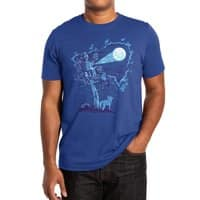 Night Sky Projector - mens-extra-soft-tee - small view