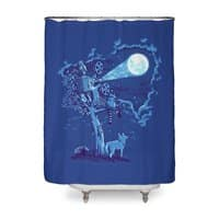 Night Sky Projector - shower-curtain - small view